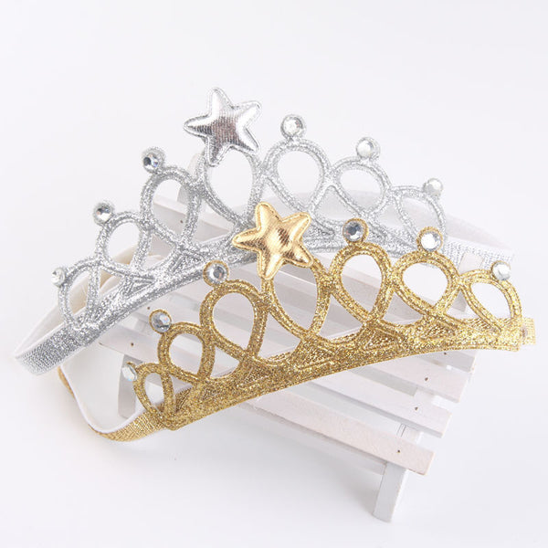 Soft Tiara Crown Headband
