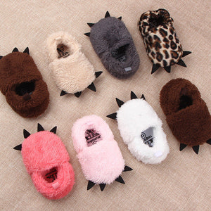 Baby Animal Paw Slipper Shoes (8colours)