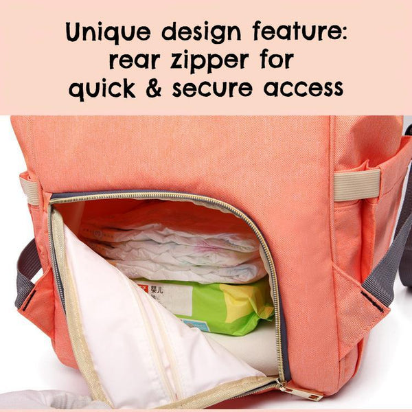 Standard Stylish & Modern Spacious Baby Nappy Bag Backpack (7colours)