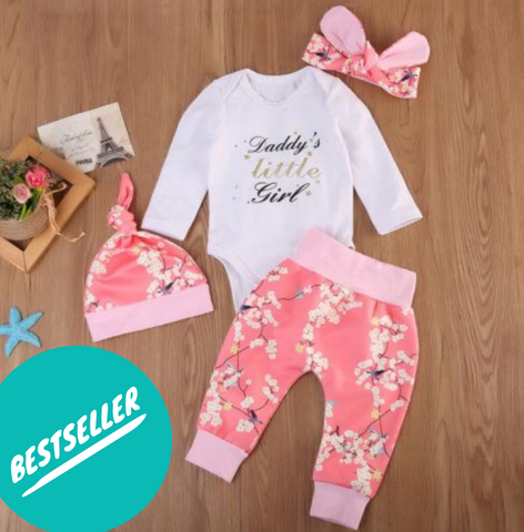 Daddy's Little Girl 4pc Set