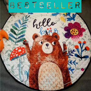 Beautiful Baby & Kids Fun Playmat Circle 150cm - Hello Bear