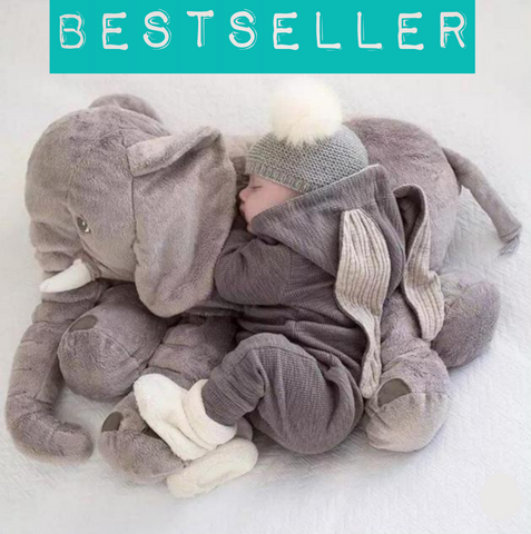 Giant Cuddly Elephant Plushie (5colours)