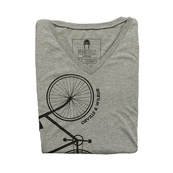 Wright Bicycle V-Neck
