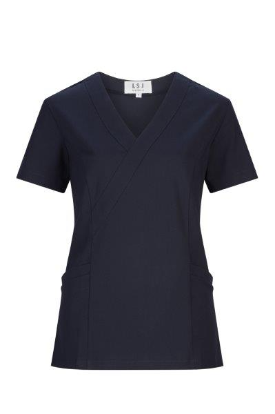 550-SP: Ladies fitted stretch scrub top