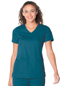 LA9063 - Chelsea scrub top, Carribean