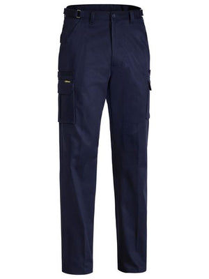 BIBPC6007: MEN'S PANT DRILL CARGO NAVY