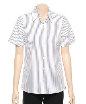 2162-FS-TPE: S/S easy fit action pleat shirt