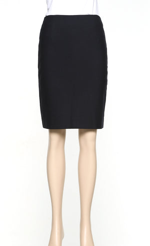 3005-MF-NVY: Knee skimming skirt