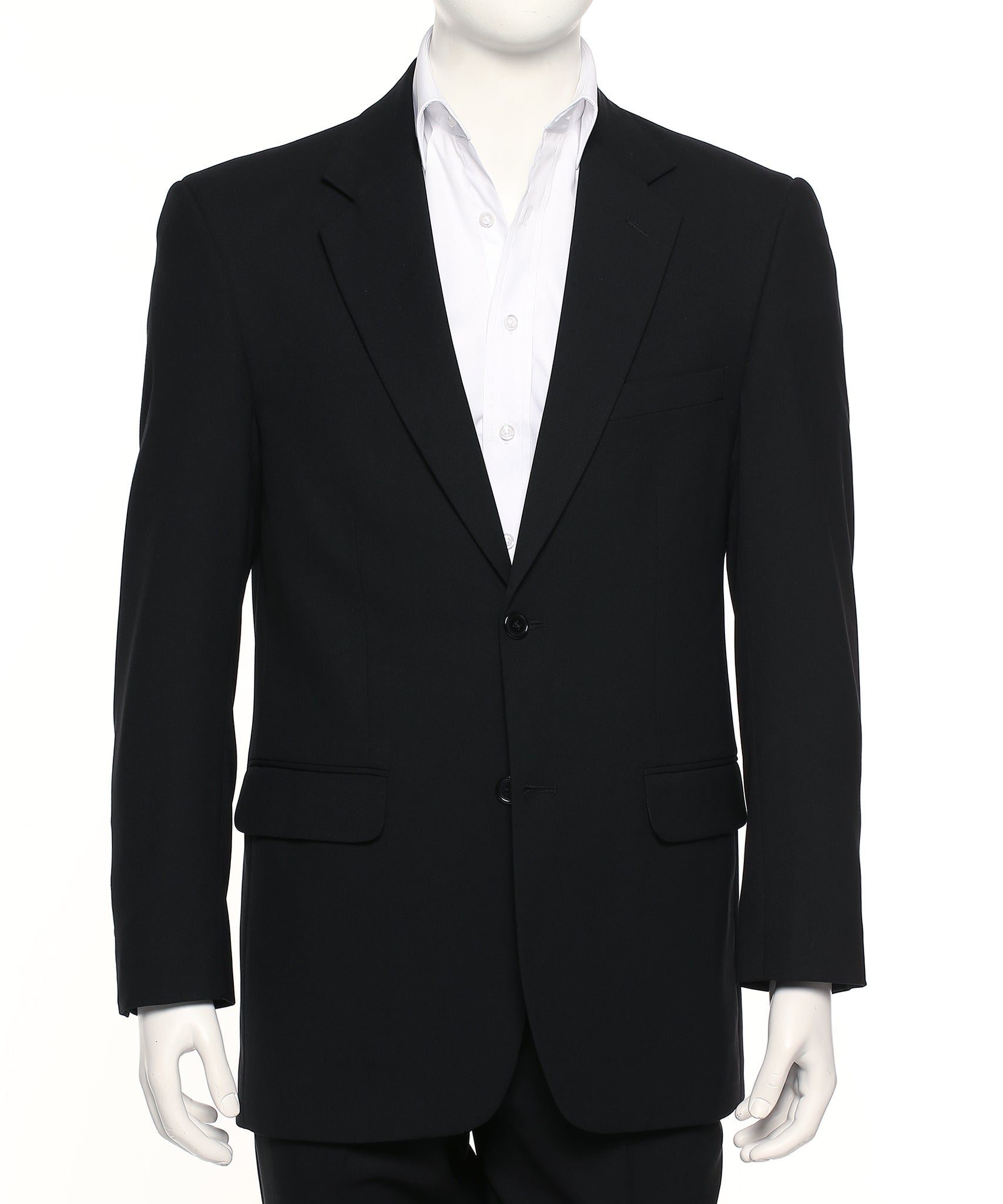 8612-MF-BLK: Single breasted two button jacket