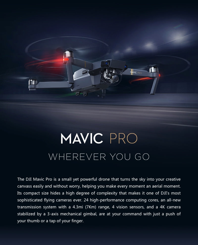 Mavic Whererever we go