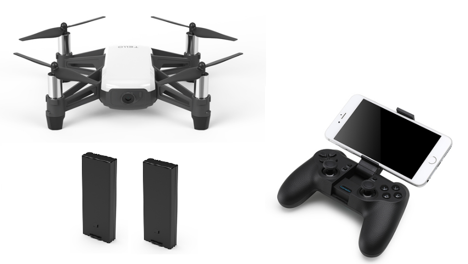 DJI Tello Controller Combo with Extra Battery (IN STOCK)
