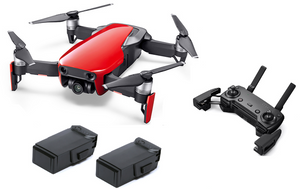 Mavic Air with Extra Battery - Flame Red