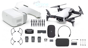 Mavic Air Fly More Combo & DJI Goggles - Arctic White