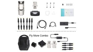 Mavic Pro Platinum - Fly More Combo - IN STOCK - dronepointcanada