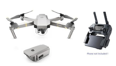 Mavic  Pro Platinum with Extra Battery - * In Stock * - dronepointcanada