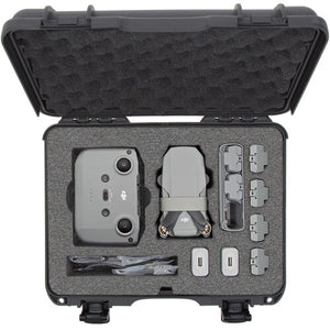Nanuk Case with Custom Foam for DJI Mini 2 Fly More Combo