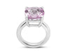 Barcelona Pink Amethyst Solitaire - Finnly's