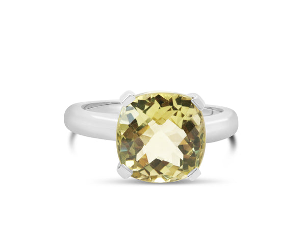 Barcelona Lemon Quartz Solitaire - Finnly's