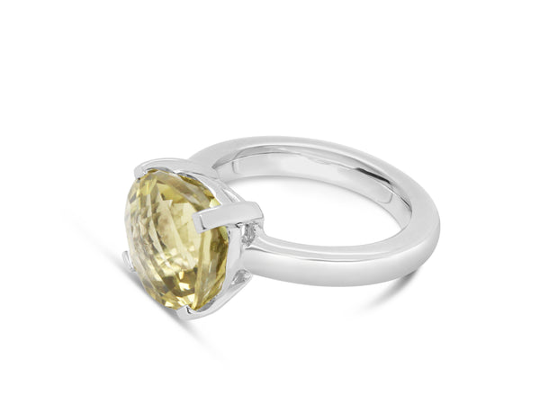 Barcelona Lemon Quartz Solitaire