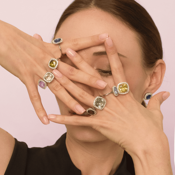 Finnly's cocktail rings - Barcelona collection