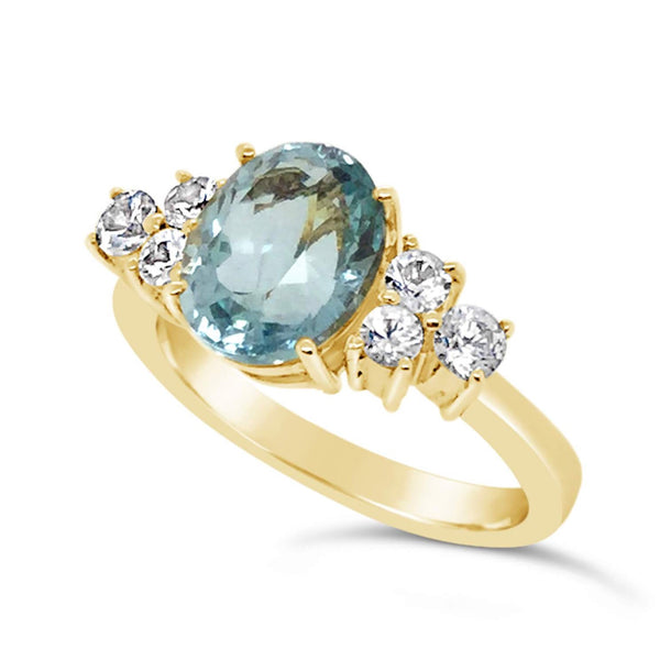 Aquamarine  Ring - Finnly's