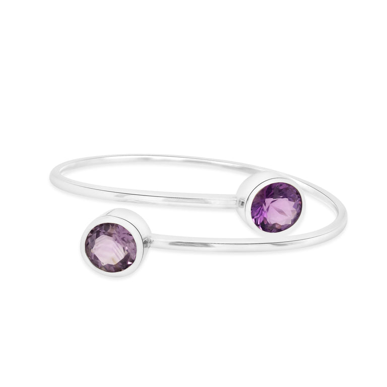 Capri Amethyst bangle