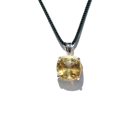 Natural Citrine Pendant