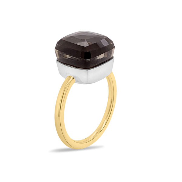 Portofino Smoky Quartz Ring