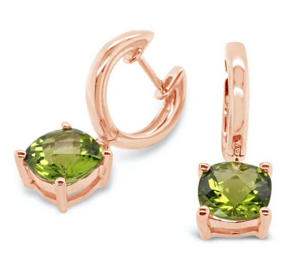 Barcelona Peridot Dangle Earrings