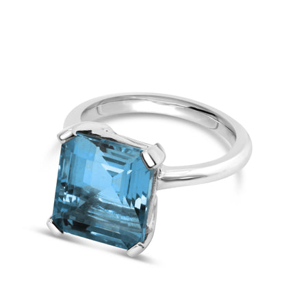 Marbella London Blue Topaz Ring
