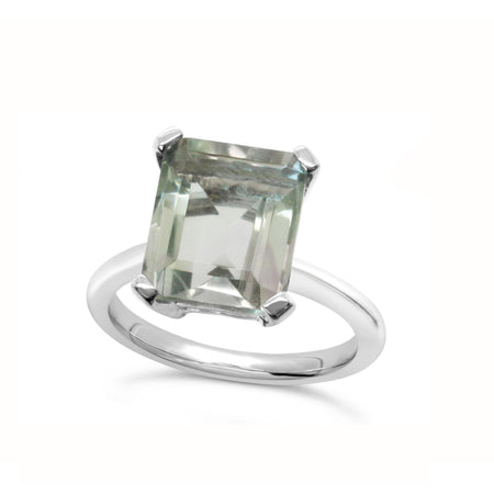 Marbella Green Amethyst Ring