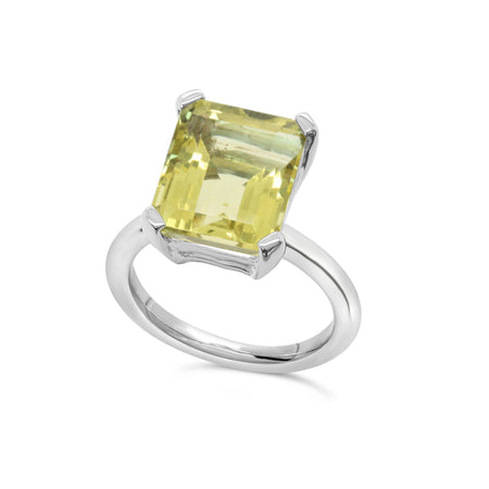 Marbella Lemon Quartz Ring