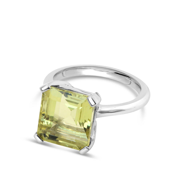 Marbella Lemon Quartz Ring - Finnly's