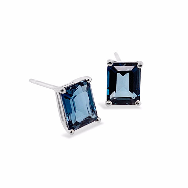 Marbella London Blue Topaz Earrings - Finnly's