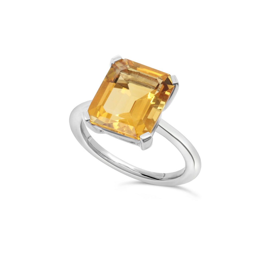 Marbella Citrine ring