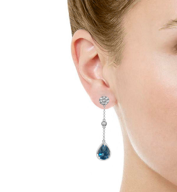 Monte Carlo Drop Earrings