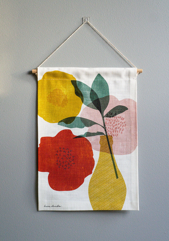 Bloom Mini Fabric Wall Hanging