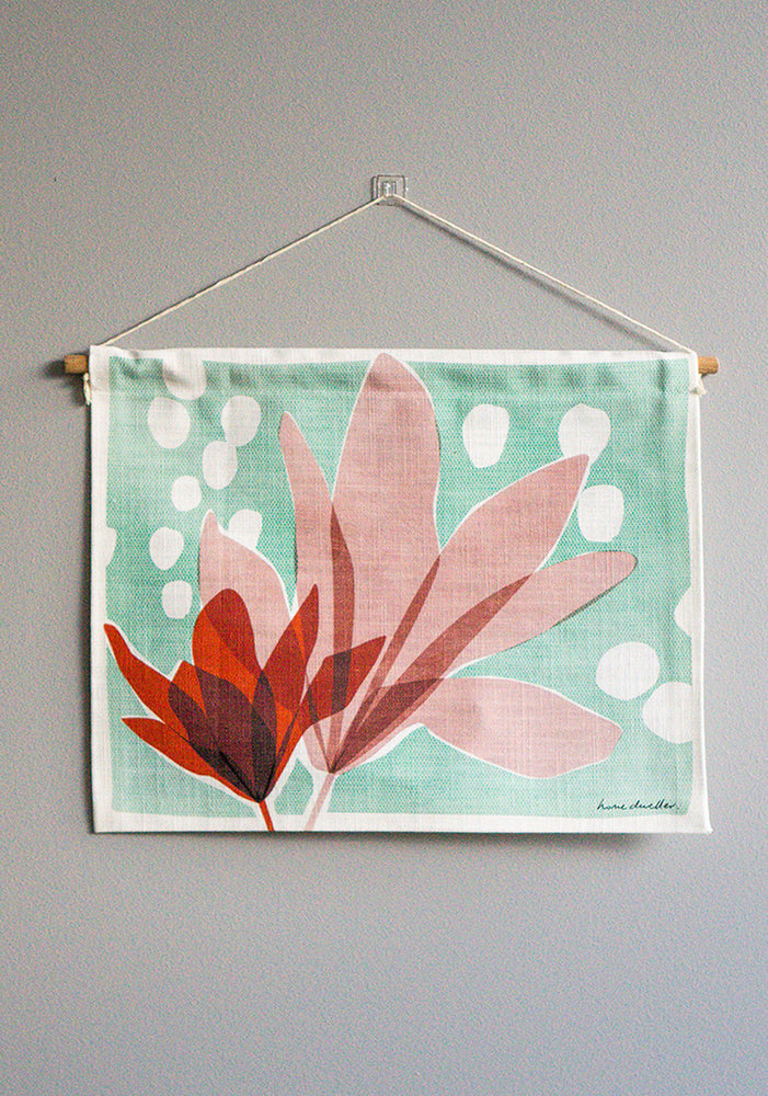 magnolia mini wall hanging