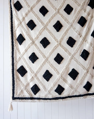 Load image into Gallery viewer, henley tufted throw