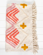 Miwok Tufted Throw Blanket