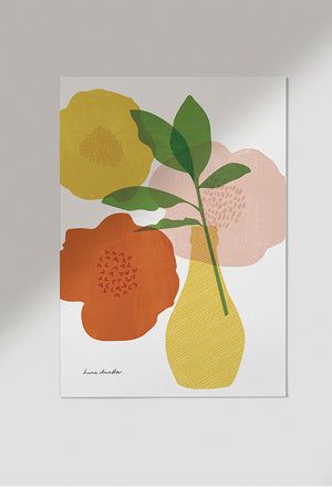 Bloom art print