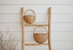 willow wall basket set oak studios
