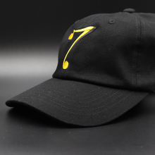 7 Dad Hat - black