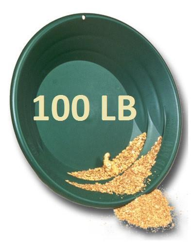 100 LB Gold Paydirt