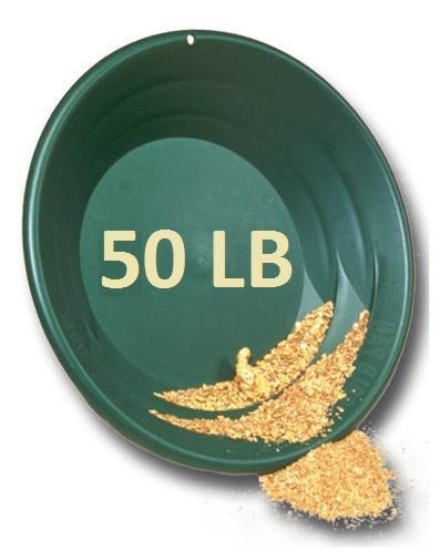Weekly Super Gold Level Club Membership - 50 LB Gold Paydirt