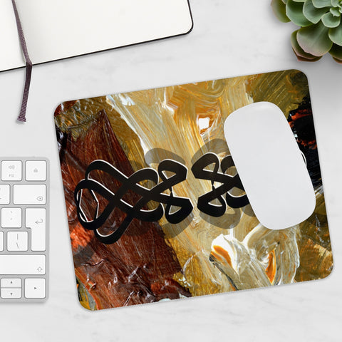 """Mohamed"" in Arabic, Prophet Muhammad Name Arabic Calligraphy  Mouse Pad"