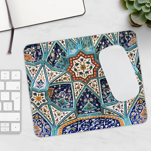 Mosque mugarnas (Complex geometrical interlacing of components to produce three-dimensional surface) Mouse Pad