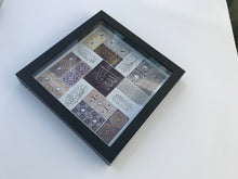 Arabic islamic Frame - Tasbeeh, Subhan Allah, Alhamdulilah, Allahu Akbar, Tasbih wall art Frame box decorated with rhinestones