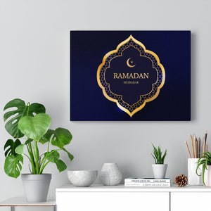 Islamic Wall Art Canvas Print Ramadan Kareem Modern Wall Art Home Decor Artwork Stretched Framed-Ready To Hang Canvas Gallery Wraps