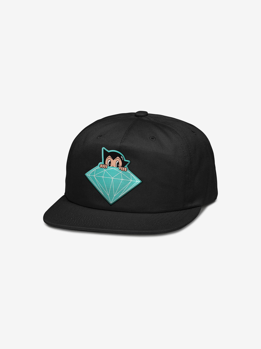 Diamond x Astroboy Brilliant Snapback - Black